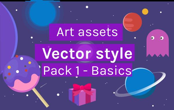 Art asset pack - Vector style