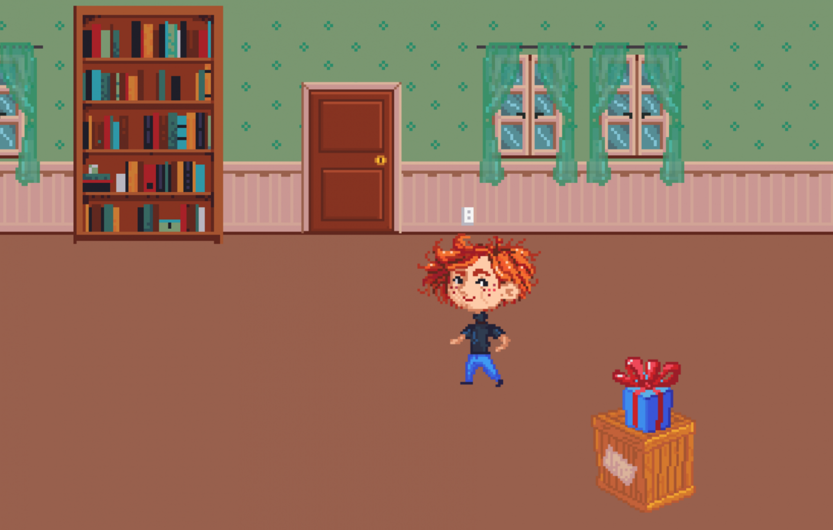 Screenshot 1 of Space Candy playable concept.