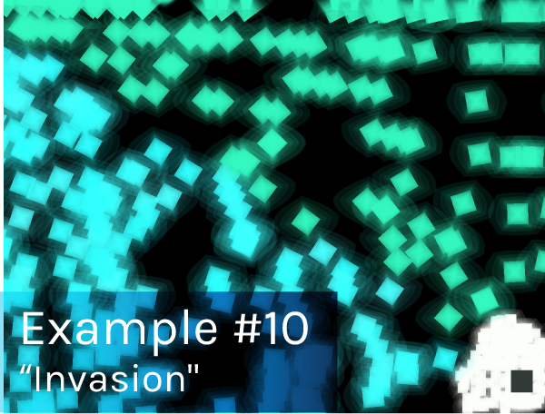 "Preview image of ""Invasion"" game."