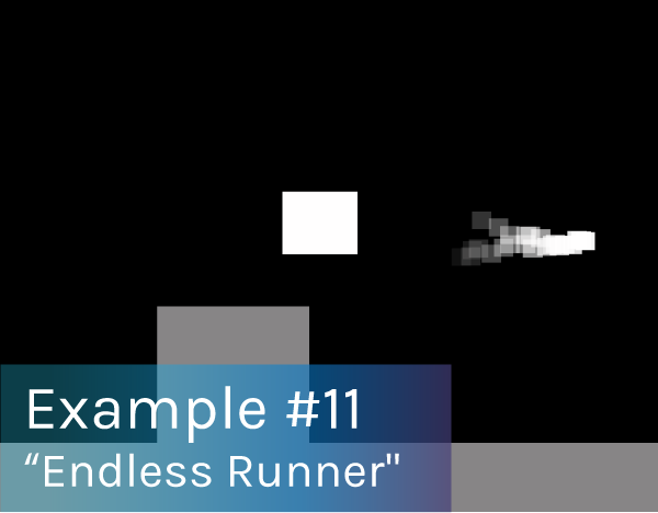 "Preview image of ""Endless Runner"" playable concept."
