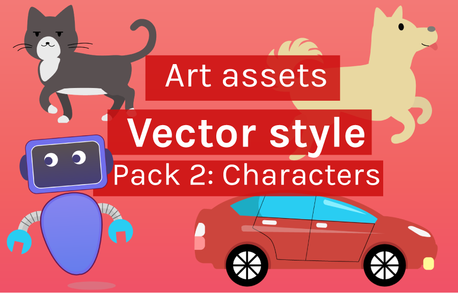 Preview image for art asset character pack