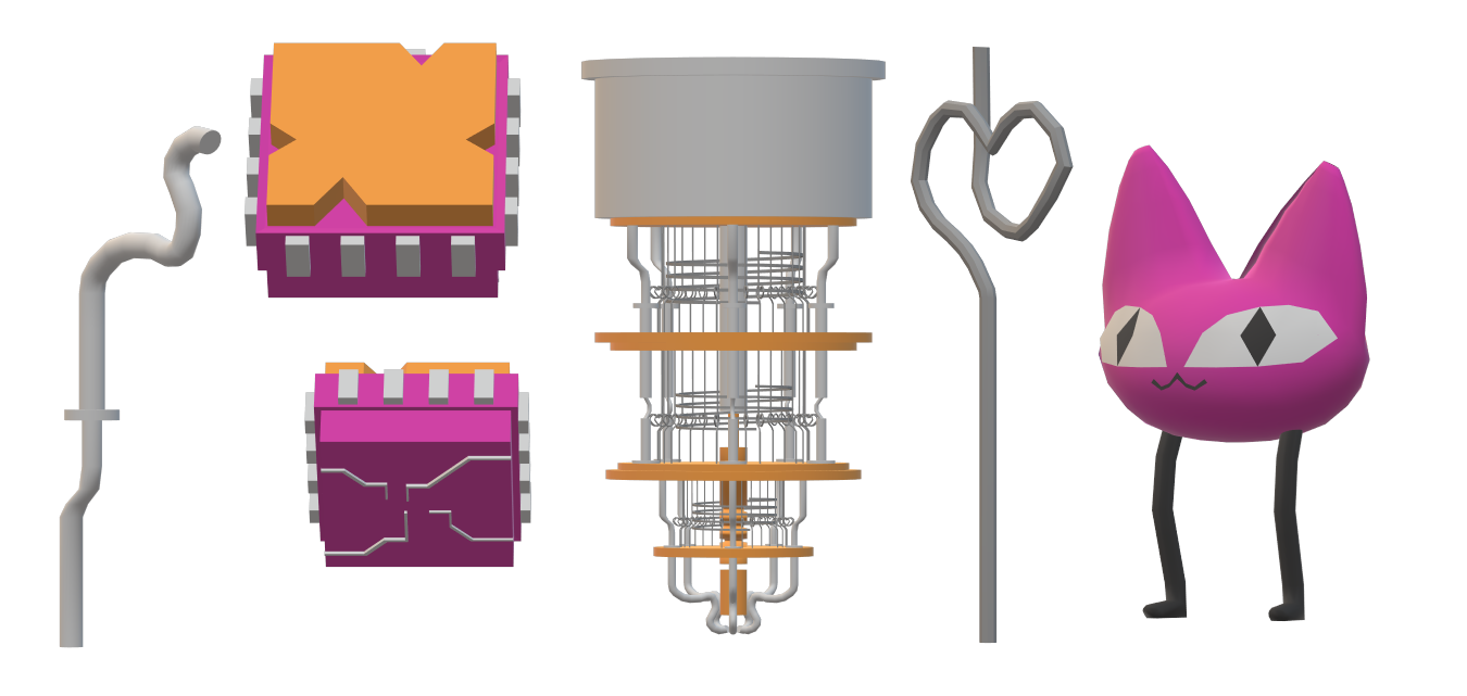 Preview image of 3D assets.