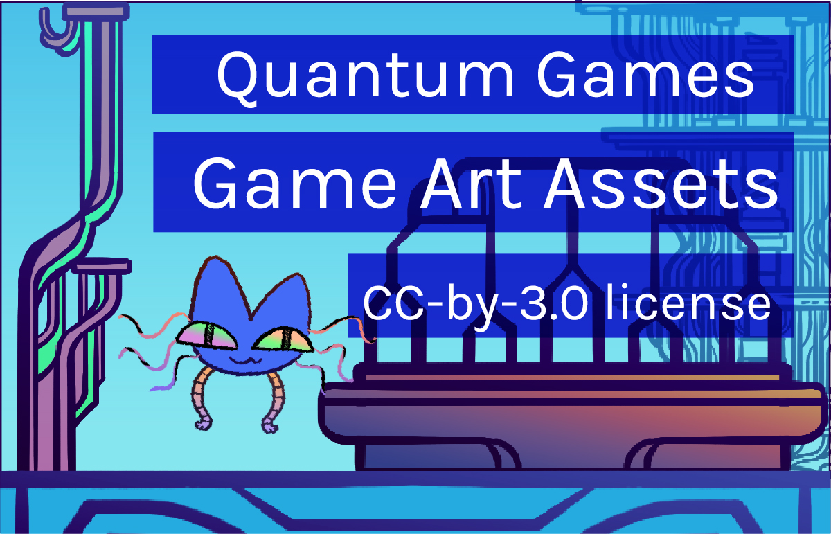Preview image of quantum games game art assets.